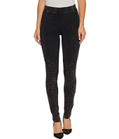 HUE - Cotton Moto Leggings