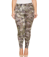 HUE - Plus Size Camo Cotton Leggings