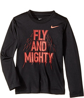 Nike Kids - Fly and Mighty Dri-Fit Long Sleeve Tee (Little Kids)