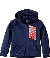 Nike Kids - Therma Full Zip Hoodie (Little Kids)