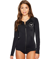Roxy - ROXY® Essentials Long Sleeve Zipped Rashguard