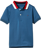 Tommy Hilfiger Kids - Solid Athletic Polo (Toddler/Little Kids)
