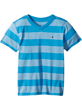 Tommy Hilfiger Kids - Ben Stripe Tee (Big Kids)
