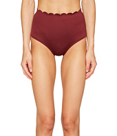 Kate Spade New York - Core Solids #79 Scalloped High-Waist Bikini Bottom