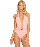 Trina Turk - Studio Solids Halter One-Piece