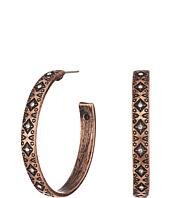 M&F Western - Aztec Hoop Earrings