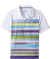 PUMA Golf Kids - Pixel Polo (Big Kids)