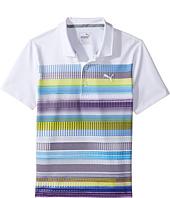 PUMA Golf Kids - Pixel Polo (Big Kids)