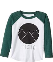 Chaser Kids - Vintage Jersey Long Sleeve Baseball T-Shirt (Toddler/Little Kids)