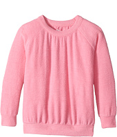 Chaser Kids - Love Knit Long Sleeve Shirred Raglan Pullover (Toddler/Little Kids)