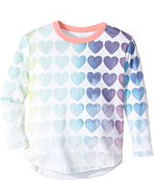 Chaser Kids - Vintage Jersey Long Sleeve Shirttail (Toddler/Little Kids)