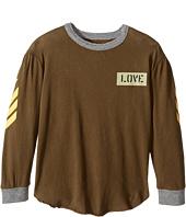 Chaser Kids - Tri-Blend Long Sleeve Blocked T-Shirt (Toddler/Little Kids)