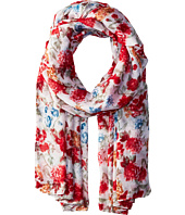 Bindya - Striped and Floral Scarf
