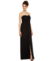 Aidan Mattox - Strapless Shirred Chiffon Gown
