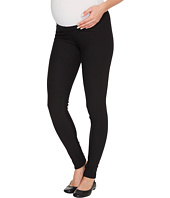 Plush - Maternity Fleece-Lined Cotton Under-Belly Leggings