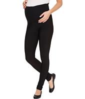 Plush - Maternity Fleece-Lined Matte Spandex Leggings