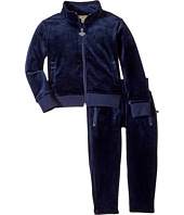 Appaman Kids - Paulie Extra Soft Velour Tracksuit Set (Toddler/Little Kids/Big Kids)