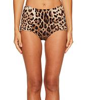 Dolce & Gabbana - Cheetah High Waisted Bikini Bottom