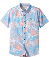 Rip Curl Kids - Sun Glaze Short Sleeve Shirt (Big Kids)