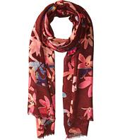 Bindya - Cashmere/Silk Floral Mixed Print Scarf