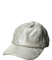 Steve Madden - Metallic Faux Leather Baseball Cap