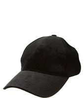 Steve Madden - Velvet Embroidered Baseball Cap