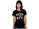My Dog Is My BFF Rolled Short Sleeve Crew Neck Tee