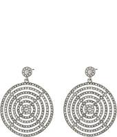LAUREN Ralph Lauren - Gradual Pave Disc Drop Earrings
