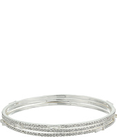 LAUREN Ralph Lauren - Set of 3 Bangles with Pave & Baguettes Bracelets