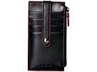 "Audrey RFID  5"" Credit Card Case w/Zipper Pocket"
