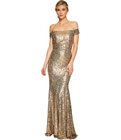 Badgley Mischka - Sequin Off the Shoulder Siren