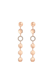 GUESS - Disc Drop Linear Earrings