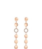 GUESS - Disc Drop Linear Earrings
