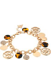 GUESS - Multi Disc Charm Logo Bracelet