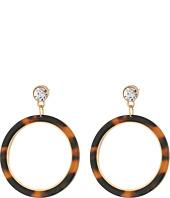 GUESS - Tortoise Ring Drop Earrings