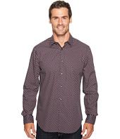 Perry Ellis - Optical Mini-Ribbon Stripe Shirt