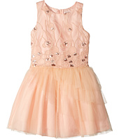 Nanette Lepore Kids - Sequins Embroidered Mesh Dress with Layered Tulle (Little Kids/Big Kids)