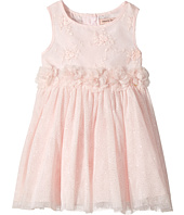 Nanette Lepore Kids - Lurex Ribbon Mesh Dress with Flowers (Infant)