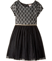 Nanette Lepore Kids - All Over Lace with Glitter Tulle (Little Kids/Big Kids)