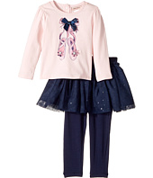 Nanette Lepore Kids - Ballet Slipper Top with Tutu and Leggings Set (Infant)