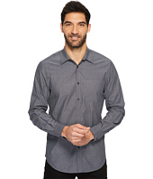 Perry Ellis - Long Sleeve Multicolor Paisley Print Shirt
