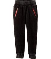 True Religion Kids - Moto Fleece Sweatpants (Toddler/Little Kids)