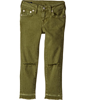 True Religion Kids - Casey Ankle Skinny Jeans in Olive (Toddler/Little Kids)