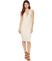 MINKPINK - Marle Desert Rib Midi Dress