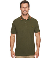 U.S. POLO ASSN. - Classic Fit Solid Short Sleeve Pique Polo Shirt