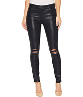 7 For All Mankind - The Ankle Skinny w/ Destroy in Ink w/ Holes