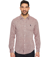 U.S. POLO ASSN. - Slim Fit Solid Long Sleeve Sport Shirt