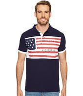 U.S. POLO ASSN. - Slim Fit Solid Short Sleeve Pique Polo Shirt