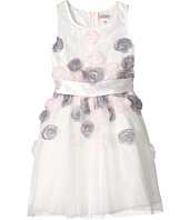 Nanette Lepore Kids - Mesh Dress with 3-D Roses (Toddler/Little Kids)