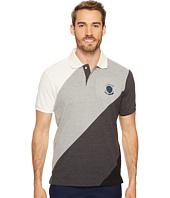 U.S. POLO ASSN. - Slim Fit Striped Short Sleeve Pique Polo Shirt